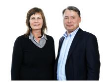 Petra Sörme och Tommy Barnieske