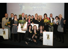 Alla vinnare i Arla Guldko 2013