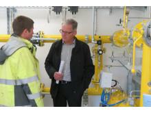 Inbetriebnahme Gasstation Irchenrieth