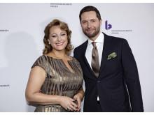 For tredje år i træk var Kåre Quist og Stéphanie Surrugue værtspar ved Kronprinsparrets Priser