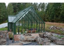 """Attefalllshus i glas """"for Plants & People"""""""
