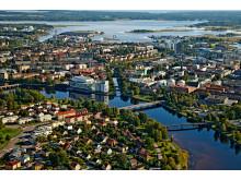 Flygfoto över Karlstad CCC