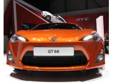 Toyota GT 86 på bilsalongen i Genève