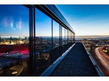 Quality Hotel 33 - Utsikt fra Top Floor Restaurant