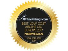 Norwegian on paras halpalentoyhtiö Euroopassa