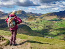 Ramblers Walking Holidays: Newlands Valley from Cat Bells