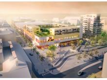 Galleria Boulevard Kristianstad, visionsbild