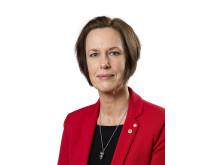 Karin Sundin (S), ordförande i Region Örebro läns hälso- och sjukvårdsnämnd