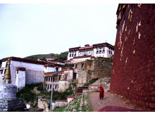 Tibet, Ganden monastery - Erik Törner 2003