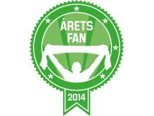 Logotyp Årets fan
