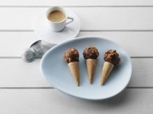 Hasselnöt och chokladglass