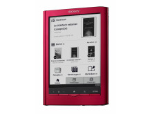 Reader Touch Edition PRS-650 von Sony rot_2