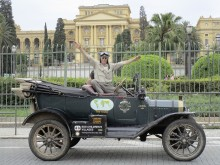 Model T på jordomrejse