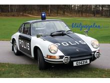 Veteranbil Porsche Polisbil