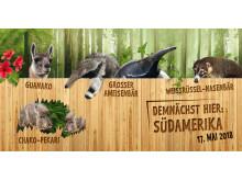 Südamerika im Zoo Leipzig - Tierbesatz