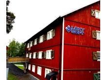 Loxysofthuset västra gaveln