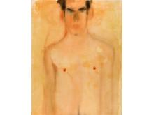Mats Gustafson, Nude (Eric) 2, 1991, akvarell på papper