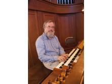 Johannes Landgren, organist, körledare med mera, och prorektor vid Kungl. Musikhögskolan från 1 okt 2019.