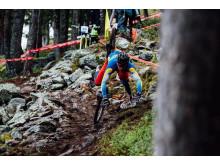 Matthias Wengelin testar VM-banan i Andorra