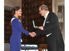 Erik Sellberg og Kronprinsesse Victoria