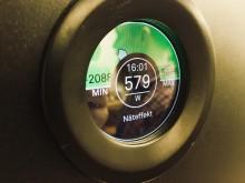 Mätare som visar energianvändningen i en villa i Björklinge