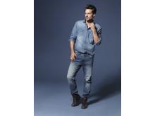 Demin jeans til herre by KappAhl