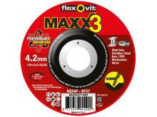 Flexovit Maxx3 Combo - Tuote 2