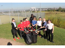 Litter Pick at Keppoch Campus