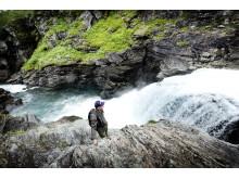Hiking, Frostviksfjällen