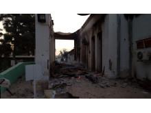 Läkare Utan Gränsers traumasjukhus i Kunduz, Afghanistan