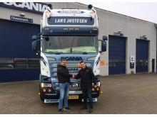 Ny Scania Ecolution til vognmand Lars Justesen
