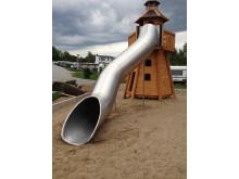 Woodwork AB - Rutschrör som är 4 meter högt