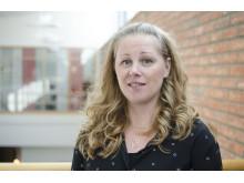 Sofi Nordmark, forskare inom omvårdnad vid Luleå tekniska universitet