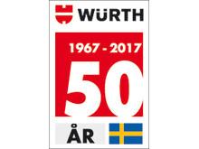 Würth firar 50 år i Sverige