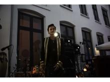 Petter A. Stordalen ønsket velkommen til Comfort Hotel Karl Johan.