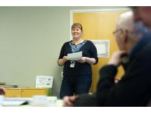 Palvelukoordinaattori Anne Korvenniemi kertoo kotihoidon palveluseteleistä