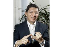 German Chamorro, chef för Novartis Onkologi i Sverige
