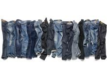 Jeans på rekke og rad - dame våren 2013