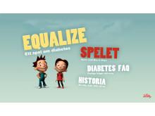 Equalize – ett dataspel om diabetes, www.equalize.se