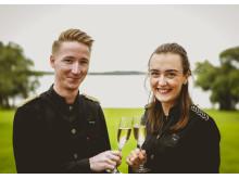 Mattias Löfgren och Shannon Loyd