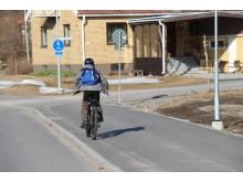 Gå och cykla till skolan