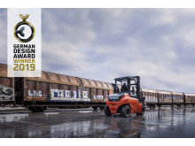 Toyota Traigo80 - elektrisk motviktstruck får tyskt designpris