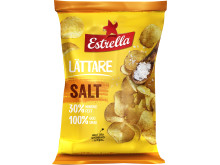 Lättare chips, Salt