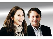 Ellen Vrålstad og Espen Hjertø, partneransvarlige i HP Norge