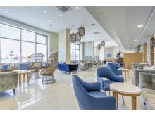 Lobby area at Maritim Hotel Paradise Blue Albena