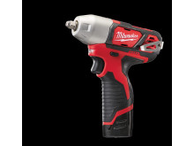 Milwaukee M12 BIW38 kompakt slagskruenøgle (2,0 Ah version)