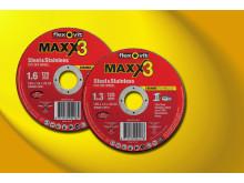 Flexovit Maxx3 Kapskivor - Sortiment