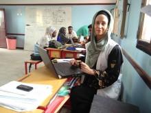 Hanna Broberg i Abs, Jemen