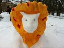 Barnens snöskulpturfestival 2016
