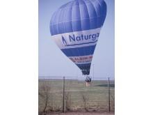 Naturgas luftballong 1985